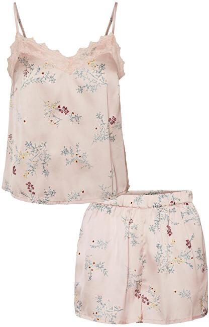 Vero Moda Dámske pyžamo VMSILLE 10254108 Misty Rose L