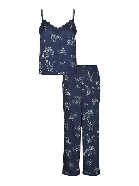 Vero Moda Dámske pyžamo VMSILLE 10254096 Navy Blazer XL