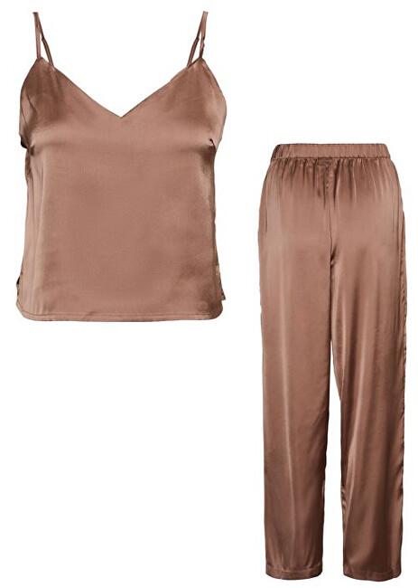 Vero Moda Dámske pyžamo VMVILLO 10254126 Brownie XL