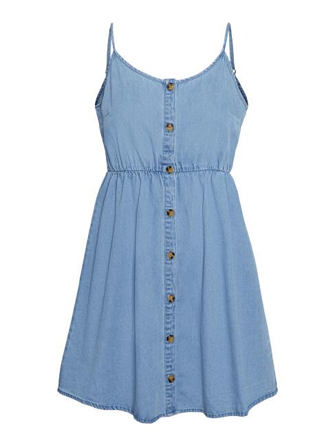 Vero Moda Dámske šaty VMFLICKA 10244708 Light Blue XS