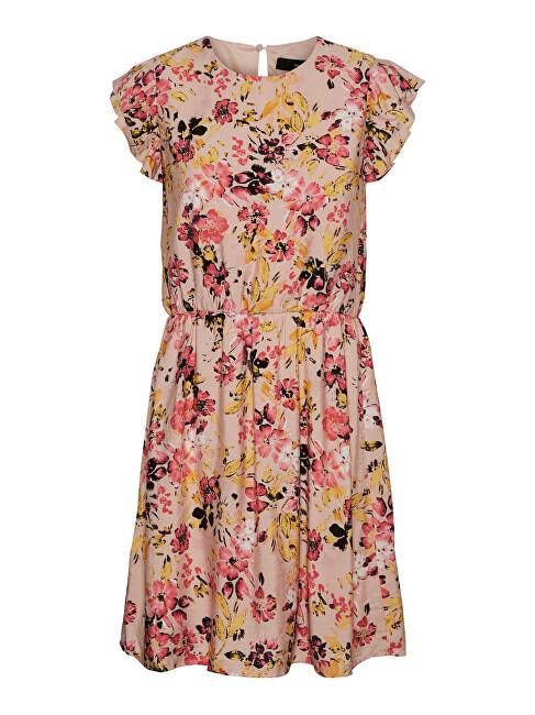 Vero Moda Dámske šaty VMGIGI 10245210 Sepia Rose XS