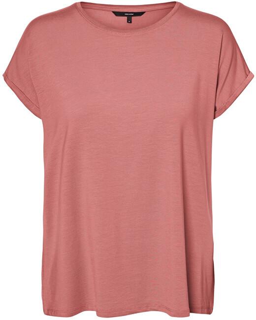 Vero Moda Dámske tričko VMAVA 10187159 Old Rose XS