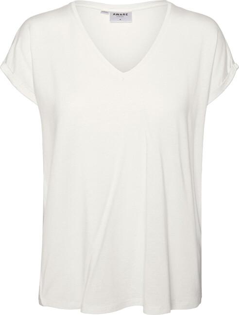 Vero Moda Dámske tričko VMAVA 10231343 Snow White XS