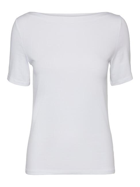 Vero Moda Dámske tričko VMPANDA 10231753 Bright white XL