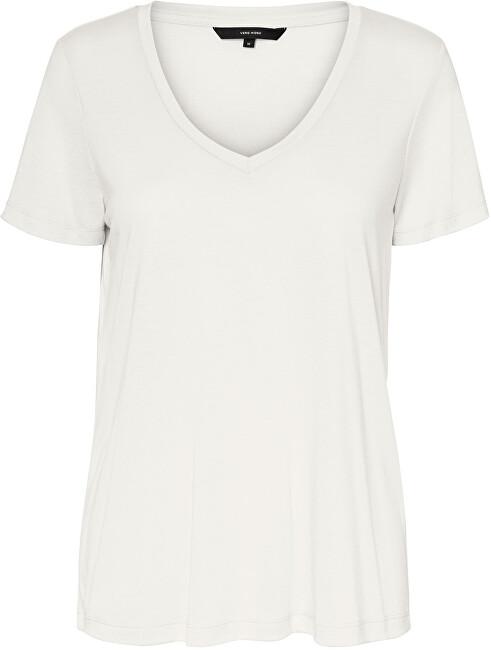 Vero Moda Dámske tričko VMSPICY 10191891 Snow White XS