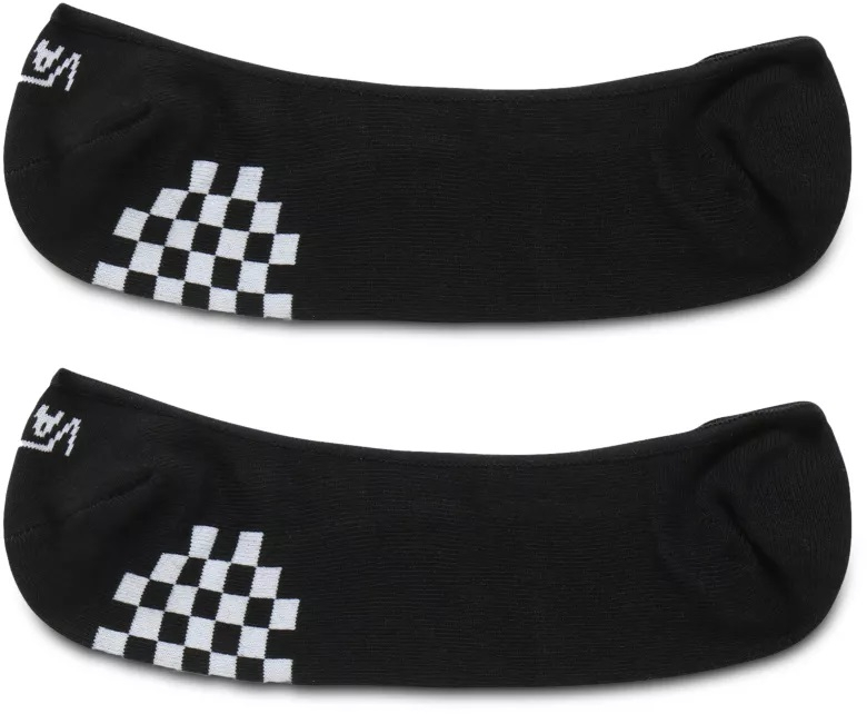 VANS 2 PACK - dámske ponožky GIRLY NO SHOW Black/White 37-41