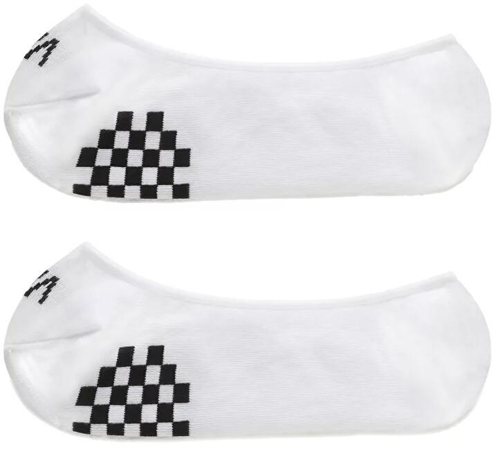 VANS 2 PACK - dámske ponožky GIRLY NO SHOW White/Black 37-41