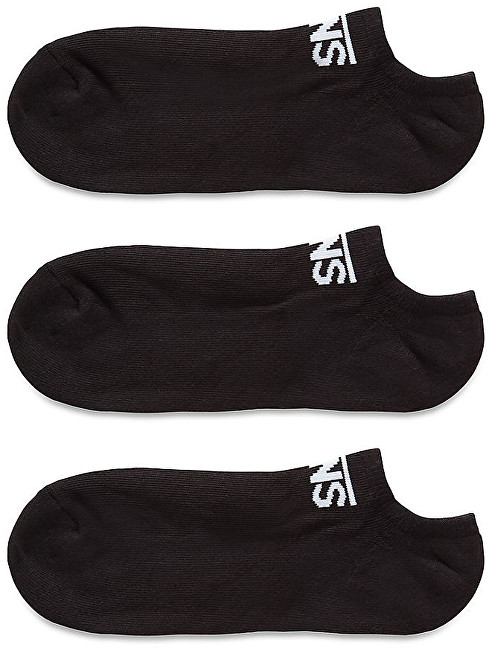 VANS 3 PACK - členkové ponožky Classic Kick Black 38,5-42