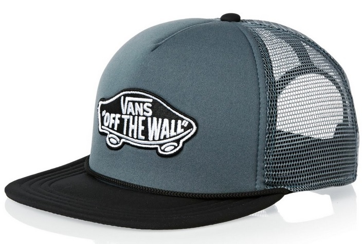 VANS Pánská kšiltovka Classic Patch Trucker Blue Mirage/Black V00H2VKP8