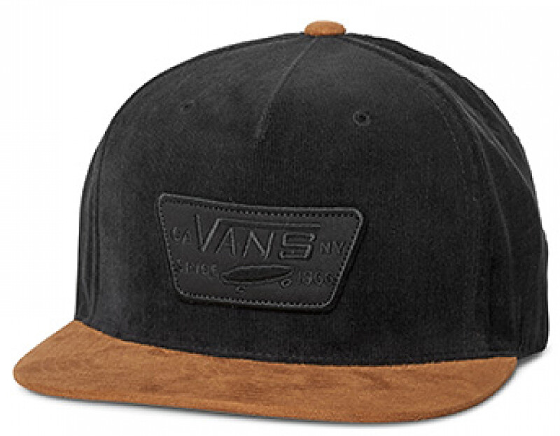 VANS Pánská kšiltovka Full Patch Snapback Black/Brown V00QPUYS8