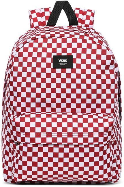 VANS Batoh Old Skool III BACKPACK Chili Pepper Checkerboard VN0A3I6 R976 1