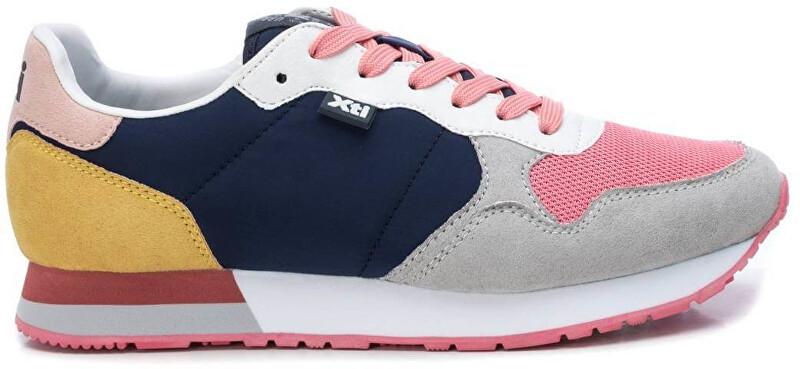 XTi Dámske tenisky Navy Textile Ladies Shoes 49820 Navy 36
