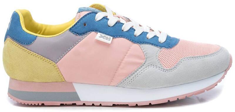 XTi Dámske tenisky Pink - Grey Textile Ladies Shoes 49820 Pink - Grey 39