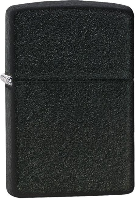 Zippo Benzínový zapalovač Black Crackle™ 26075