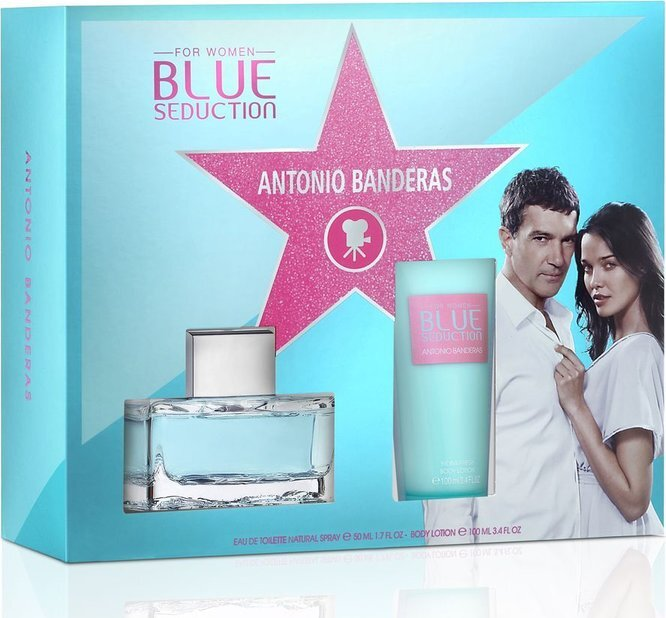 Antonio Banderas Cocktail Seduction Blue - EDT 50 ml + tělové mléko 100 ml