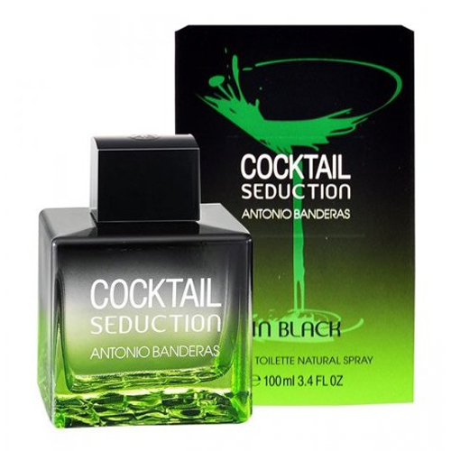 Antonio Banderas Cocktail Seduction In Black - EDT