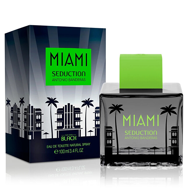 Antonio Banderas Miami Seduction In Black - EDT 100 ml