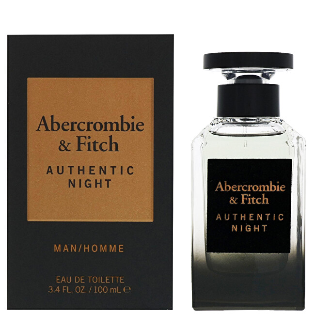 Abercrombie & Fitch Authentic Night Man - EDT 100 ml