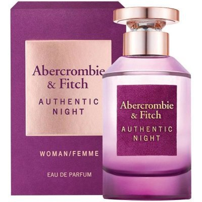 Abercrombie & Fitch Authentic Night Woman - EDP 50 ml