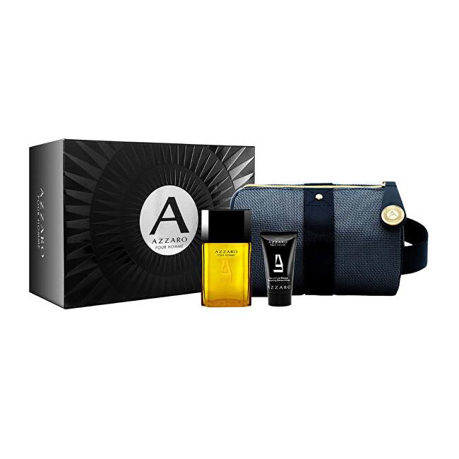 Azzaro Pour Homme - EDT 50 ml + sprchový gel 50 ml + kosmetická taštička