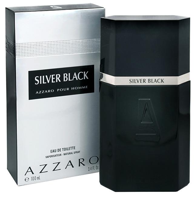 Azzaro Silver Black toaletná voda pánska 100 ml
