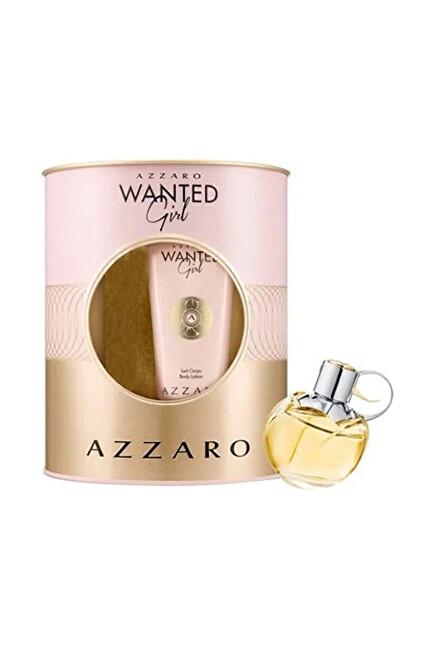 Azzaro Wanted Girl - EDP 80 ml + telový krém 100 ml