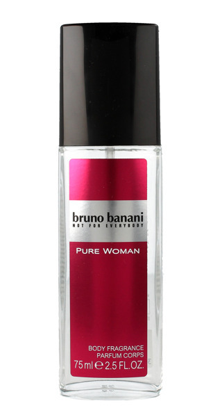 Bruno Banani Pure Woman - dezodorant s rozprašovačom 75 ml