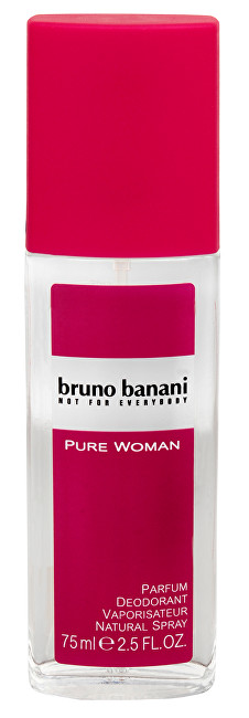 Bruno Banani Pure Woman - deodorant ve spreji 75 ml