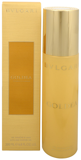 Bvlgari Goldea - sprchový gel 200 ml