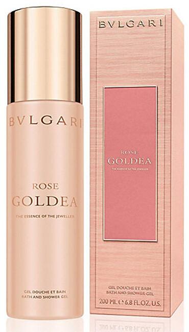 Bvlgari Goldea Rose sprchový gel 200 ml
