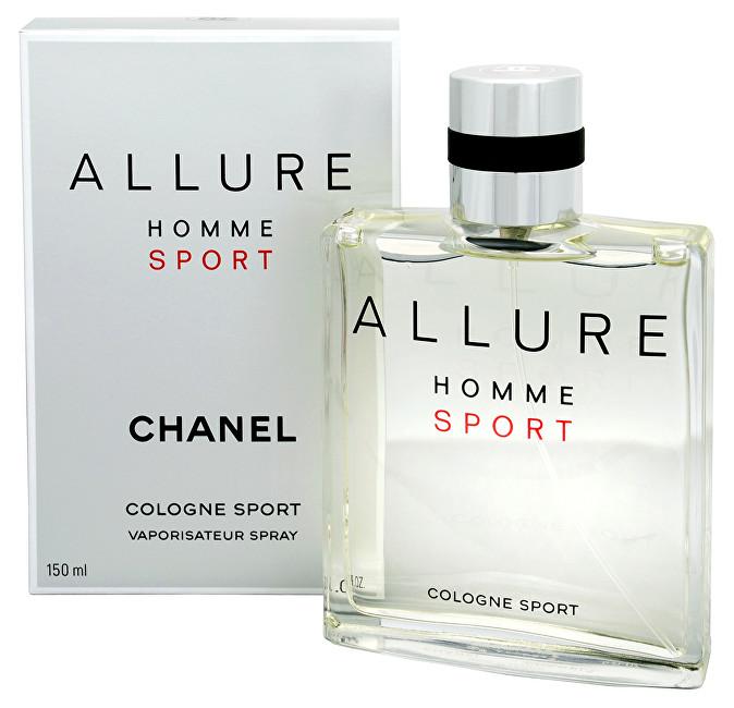 Chanel Allure Homme Sport - kolínska voda s rozprašovačom 150 ml