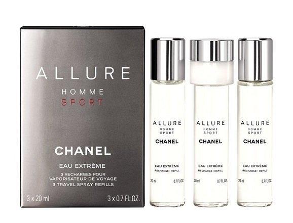 Chanel Allure Homme Sport Eau Extreme - EDP náplň (3 x 20 ml)