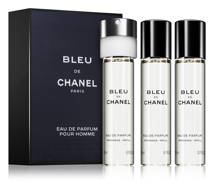 Chanel Bleu De Chanel - EDP náplň 3 x 20 ml