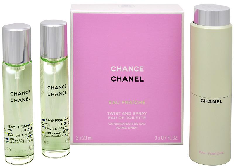 Chanel Chance Eau Fraiche toaletná voda dámska 3x20 ml