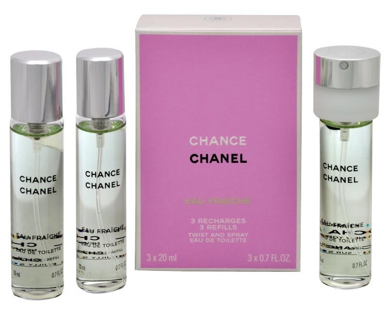 Chanel Chance Eau Tendre toaletná voda dámska 3x20 ml