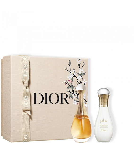 Dior J`adore Infinissime - EDP 50 ml + tělové mléko 75 ml