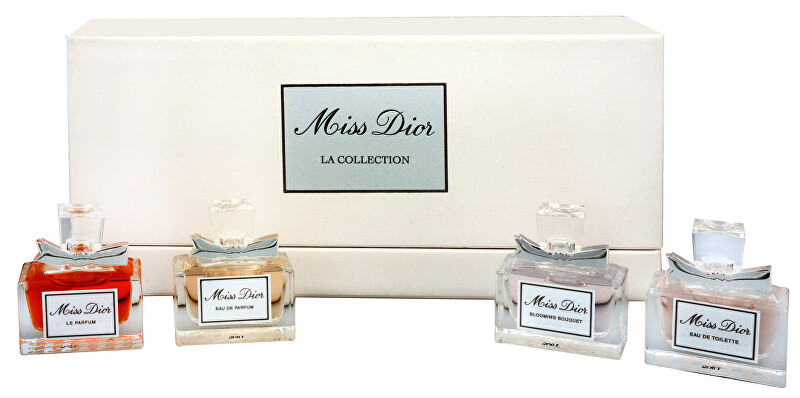 Dior Miss Dior - EDP 5 ml + EDT 5 ml + parfém 5 ml + Blooming Bouguet - EDT 5 ml