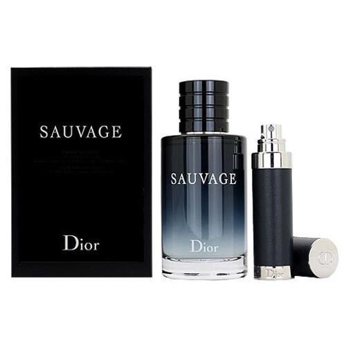 Dior Sauvage - EDP 100 ml + cestovní sprej 10 ml