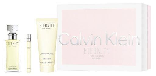 Calvin Klein Eternity - EDP 100 ml + tělové mléko 200 ml + EDP 10 ml