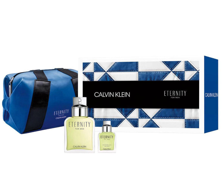 Calvin Klein Eternity For Men - EDT 100 ml + EDT 15 ml + kosmetická taštička