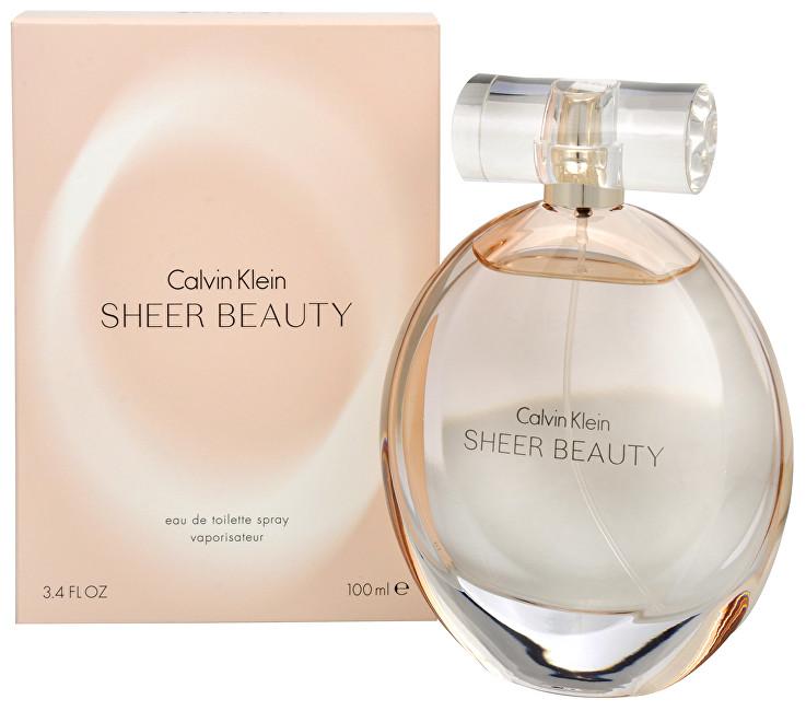 Calvin Klein Sheer Beauty toaletná voda dámska 50 ml
