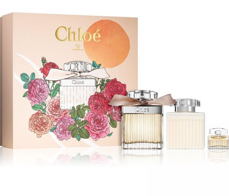 Chloé Chloé Spring Edition - EDP 75 ml + EDP 5 ml + tělové mléko 100 ml