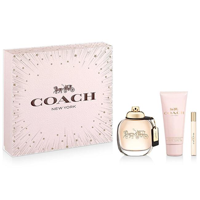 Coach Coach - EDP 90 ml + telové mlieko 100 ml + EDP 7,5 ml