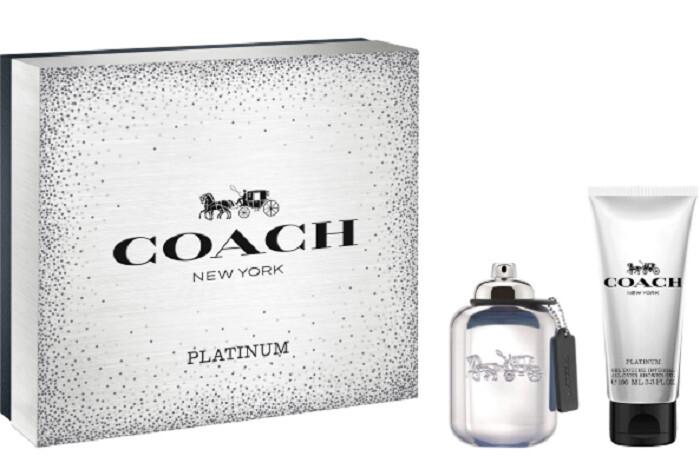 Coach Platinum EDP pro muže 60 ml + sprchový gel 100 ml dárková sada