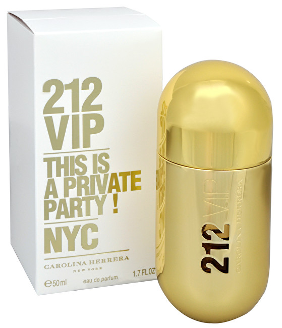 Carolina Herrera 212 VIP For Woman parfémovaná voda 30 ml