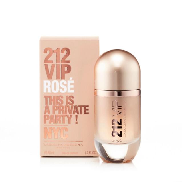 Carolina Herrera 212 VIP Rose parfumovaná voda dámska 80 ml