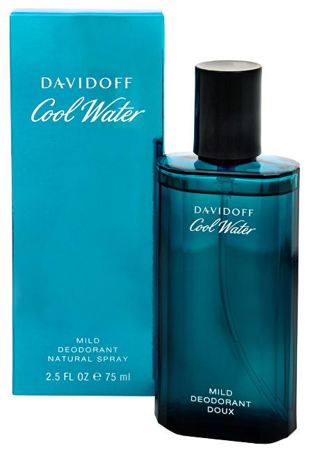 Davidoff Cool Water Man - deodorant s rozprašovačem 75 ml