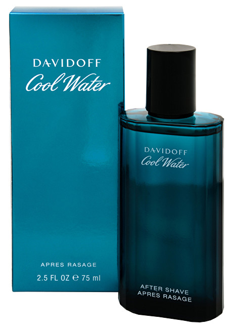 Fotografie Davidoff Cool Water Man - voda po holení 75 ml