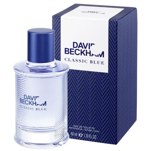 David Beckham Classic Blue toaletná voda pánska 90 ml