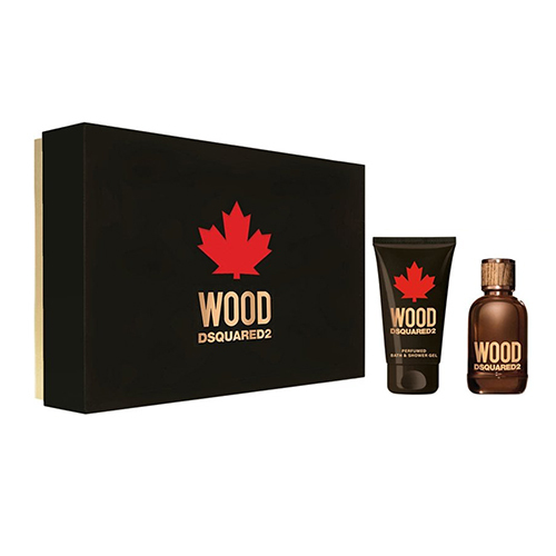 Dsquared² Wood For Him - EDT 30 ml + sprchový gel 50 ml